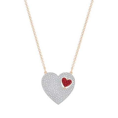GREAT HEART ROSSO COLLANA