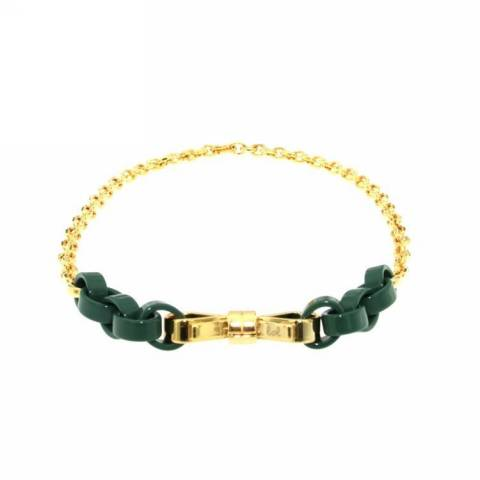 NECKLACE COLLANA GREEN