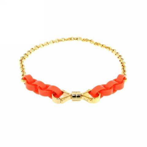 NECKLACE COLLANA ORANGE