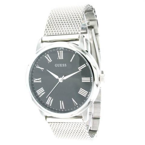 WAFER OROLOGIO SILVER/BLACK