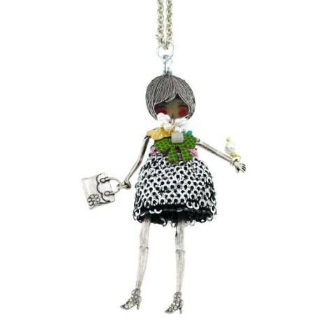 FLAPPERS  COLLANA SILVER