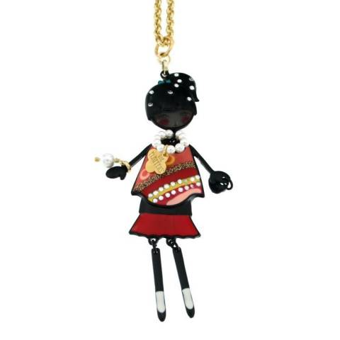 FLAPPERS  COLLANA ROSSA