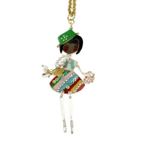 FLAPPERS  COLLANA MULTICOLOR