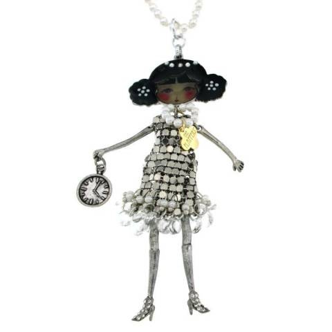 FLAPPERS COCO COLLANA SILVER
