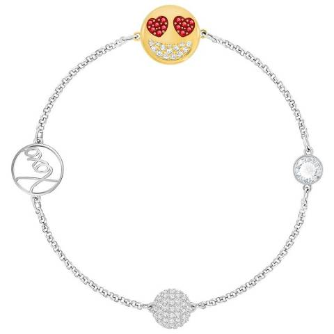 Remix Bracciale Smiling Face with Hearts