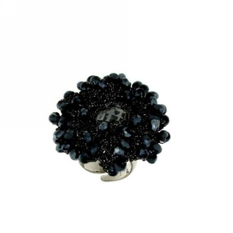 UNCINETTO ANELLO BLACK