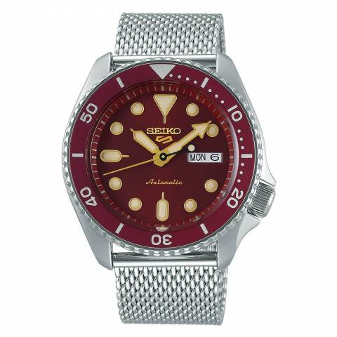 5 Sports Suits Orologio Rosso