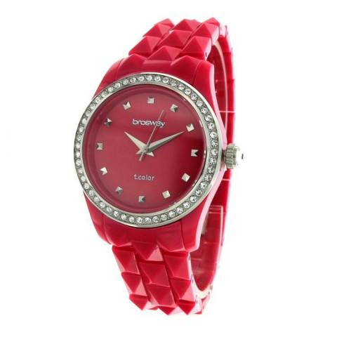 T-COLOR PIRAMIDI OROLOGIO SHOCK PINK