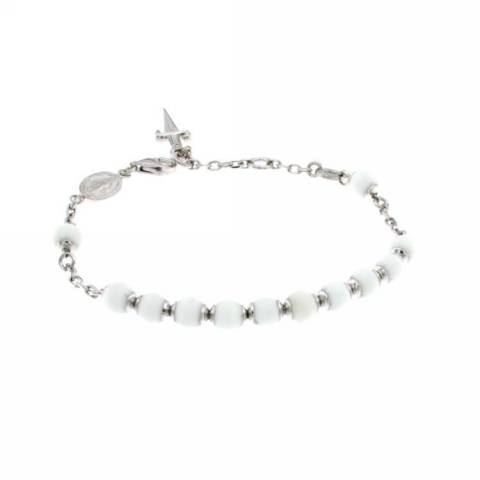 VIRGEN MATT BRACCIALE WHITE