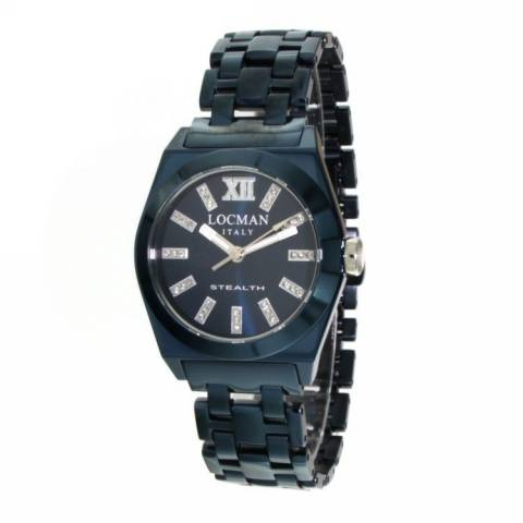 STEALTH LADY OROLOGIO BLU DIAMANTI