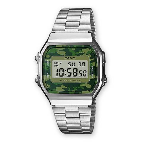 COLLECTION RETRO OROLOGIO CAMOUFLAGE VERDE
