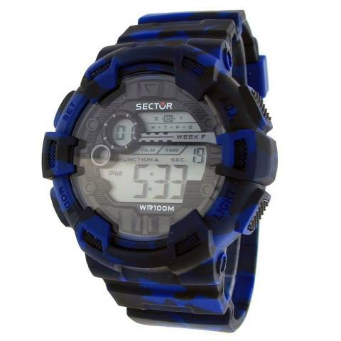 STREET FASHION OROLOGIO BLU/NERO
