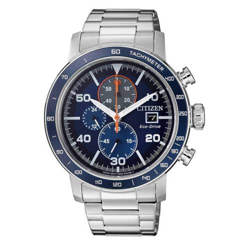 OF COLLECTION - CRONO 0640 OROLOGIO QUADRANTE BLU