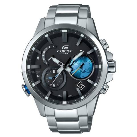 EDIFICE BLUETOOTH OROLOGIO SILVER/BLACK