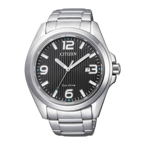 OF COLLECTION UOMO 1430 OROLOGIO SILVER/BLACK