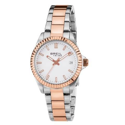 TRIBE CLASSIC ELEGANCE OROLOGIO SILVER/ROSE'