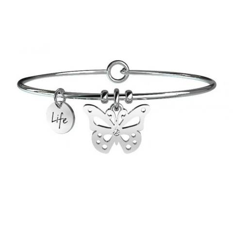 ANIMAL PLANET BRACCIALE FARFALLA CARPE DIEM