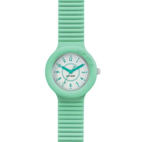 NUMBERS OROLOGIO PASTEL GREEN
