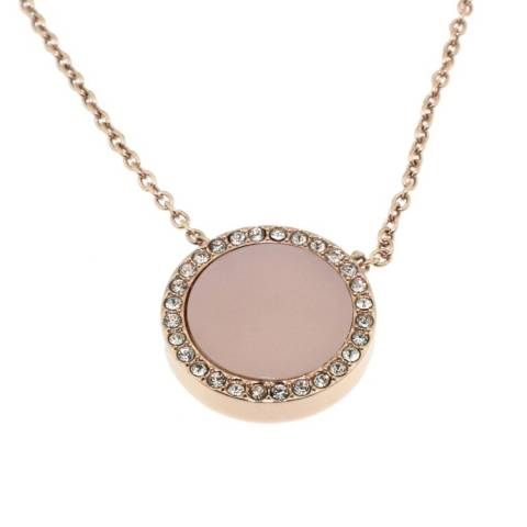 ROSE GOLD & BLUSH COLLANA