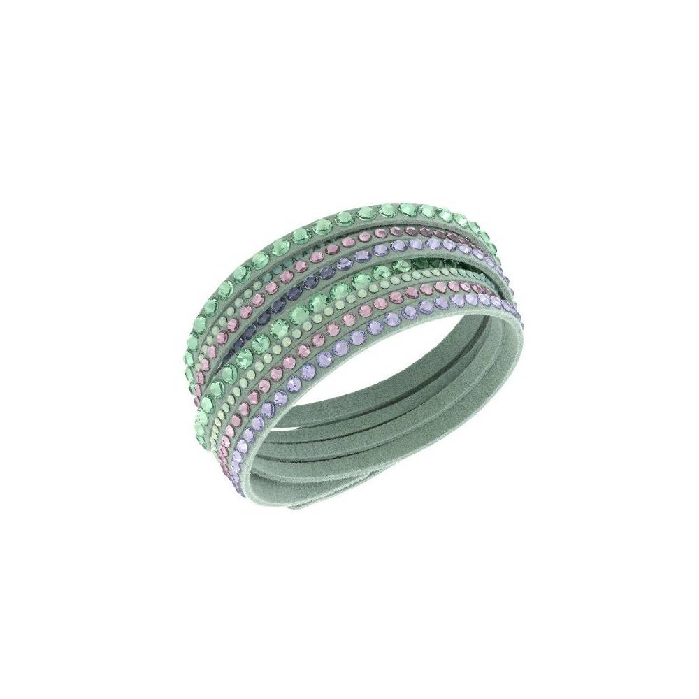 SLAKE LIGHT GREEN DELUXE BRACCIALE