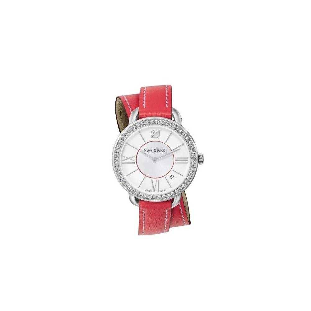 AILA DAY OROLOGIO DOUBLE TOUR RED