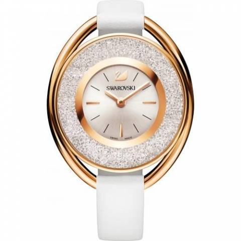 Crystalline Oval White Orologio Donna