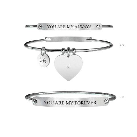 Love Bracciale Lei&Lui Always & Forever