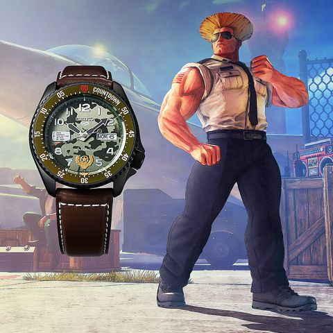 Seiko Guile Street Fighter...