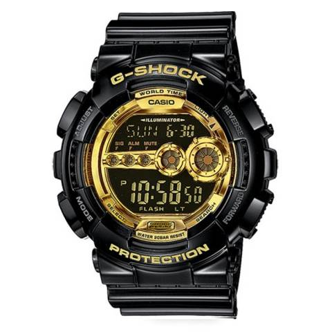 G-SHOCK NERO/GOLD DIGITALE
